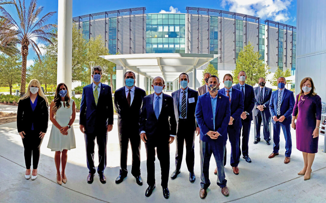 U.S. Secretary of Commerce Wilbur Ross Visits Florida-based BRIDG to Highlight Semiconductor Leadership and the Economy