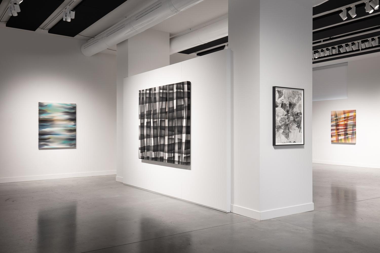 Story of a plastic journey, 2019-2020, exhibition view, Maison de la culture Claude-Léveillée, Montréal (Canada)