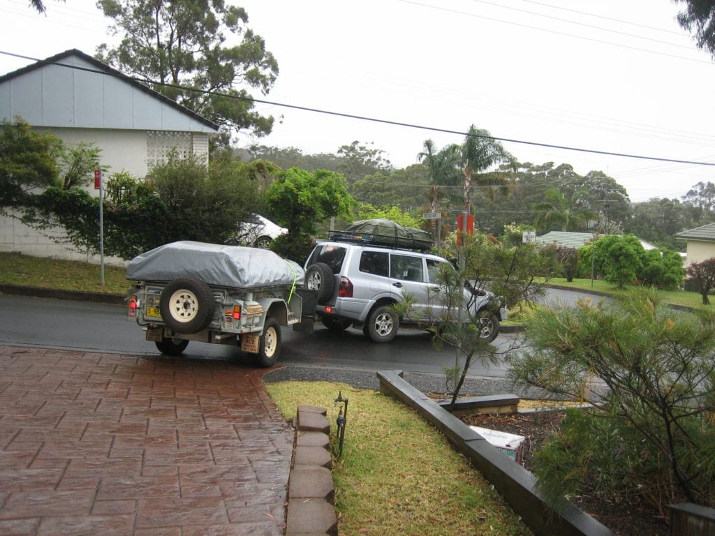 ACE Camper Trailer & NP Pajero travel Australia