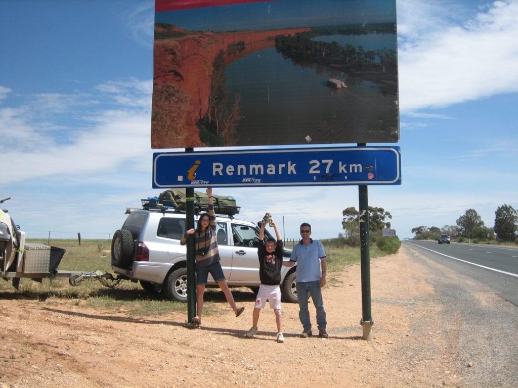 Victoria South Australian border