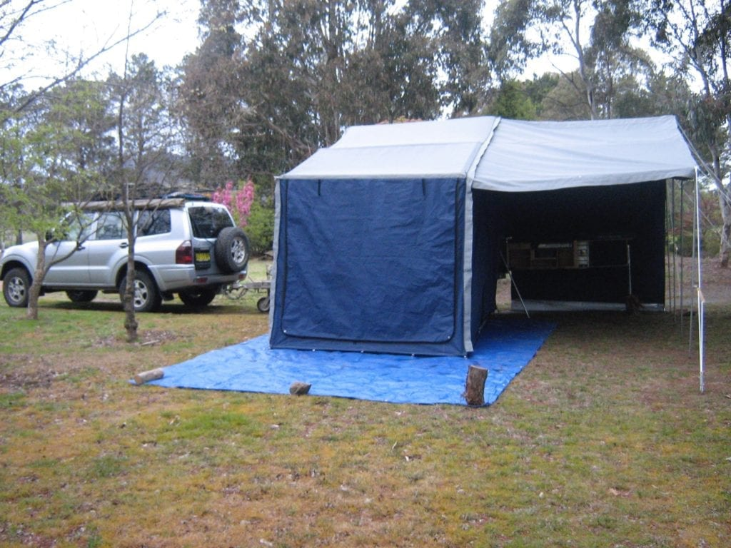 ACE Camper Trailer, Burra NSW, travel Australia