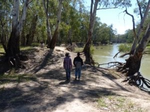 Murrumbidgee River Birdcage Reserve New South Wales