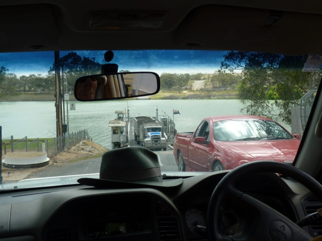 Waikerie Ferry Murray River South Australia