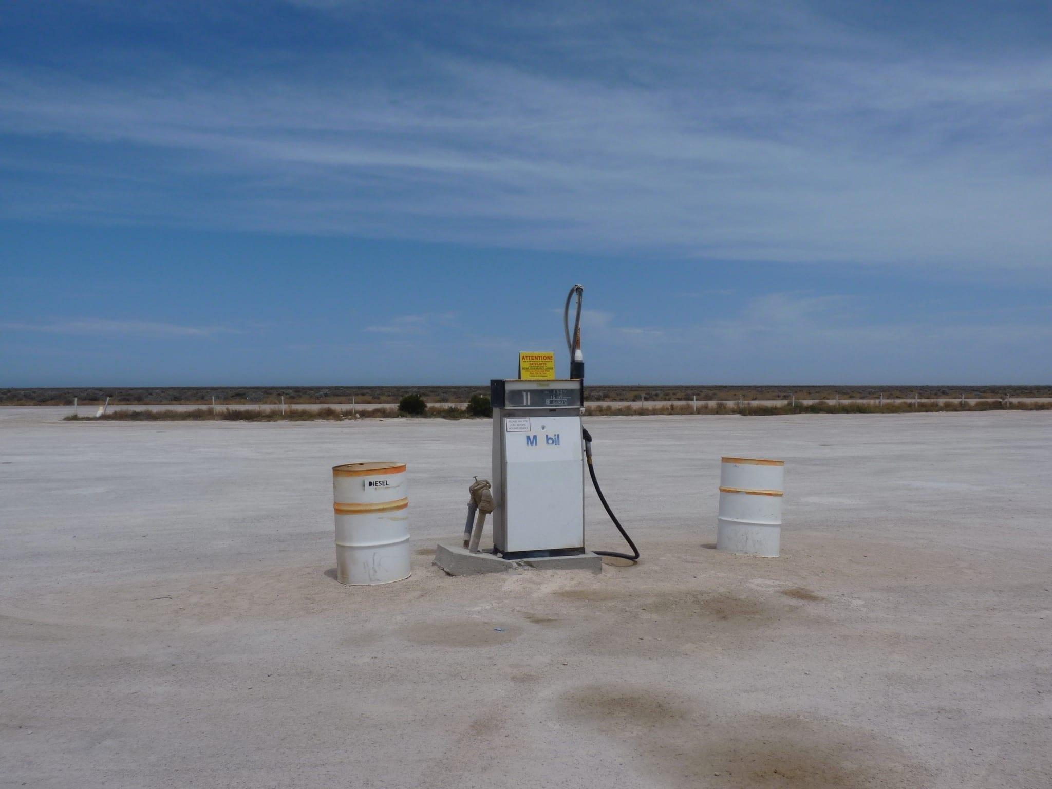 Fuel Pump Nullarbor Roadhouse South Australia