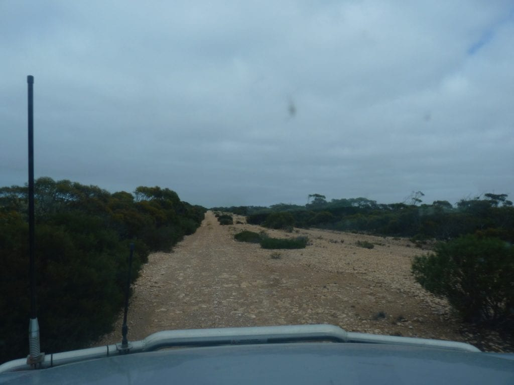 Old Eyre Highway, Border Village