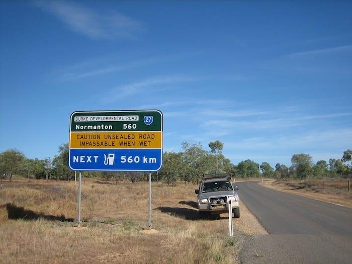 Burke Developmental Road Channel Country Queensland