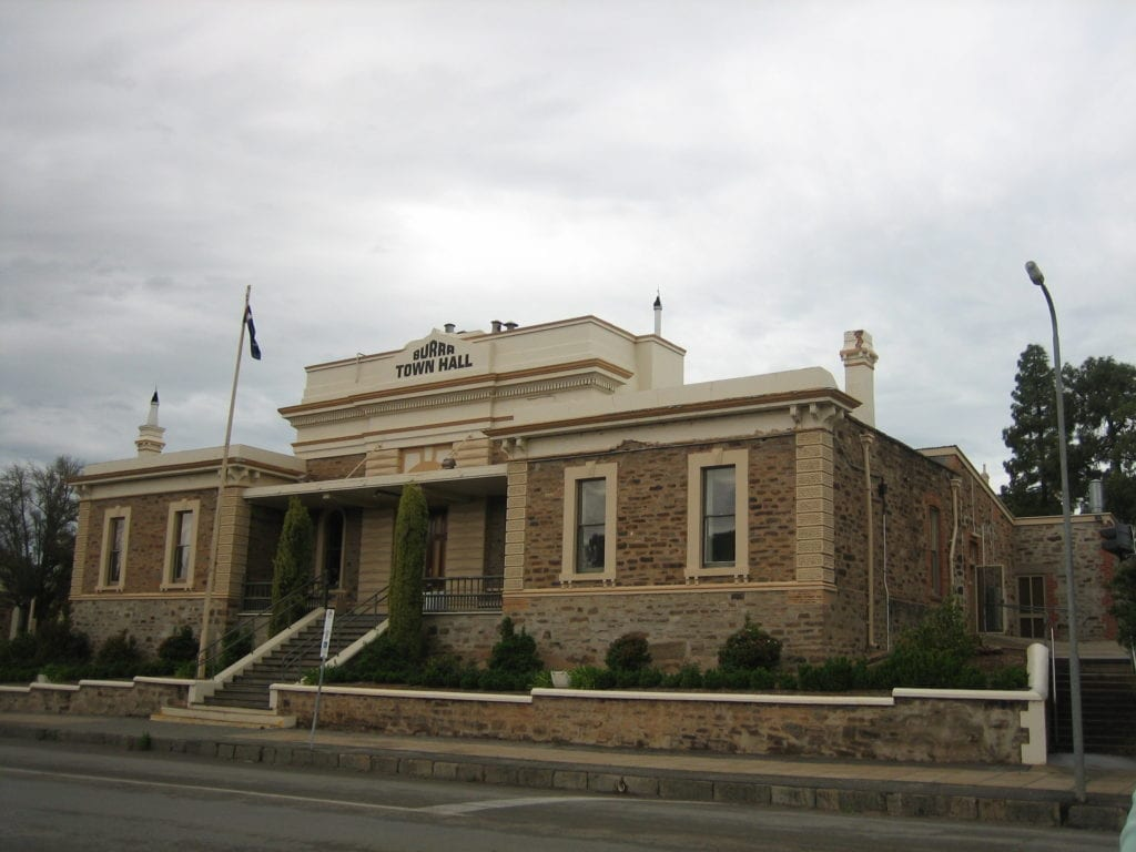Burra South Australia, Town Hall