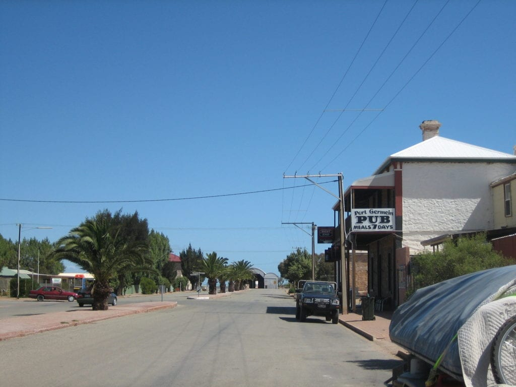 Port Germain, South Australia. Near Mt Remarkable National Park and on the Spencer Gulf.