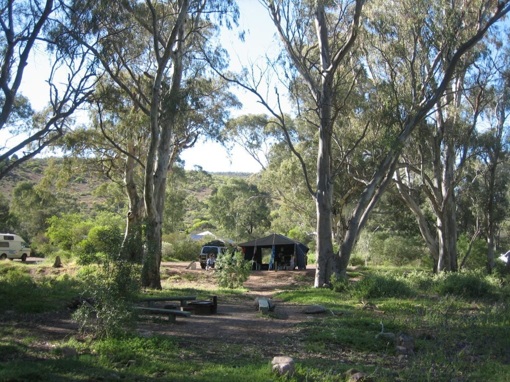 Mambray Creek Campground, Mt Remarkable National Park, South Australia
