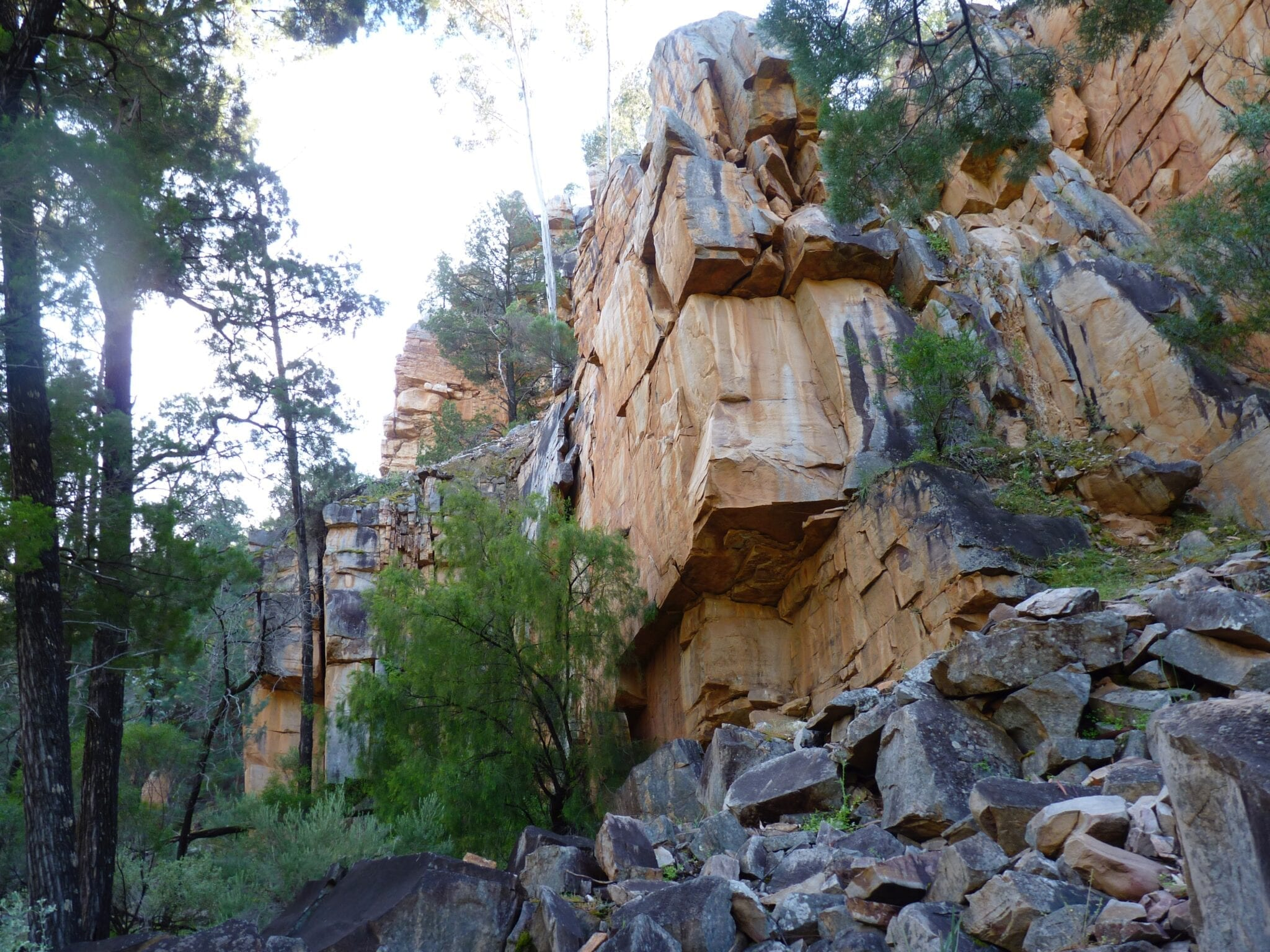 Mambray Creek Camping, Mt Remarkable National Park