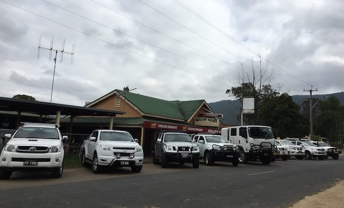 4x4 Off-Road Truck Araluen Pub NSW