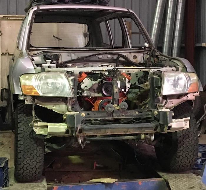 LS1 Swap In A Mitsubishi Pajero