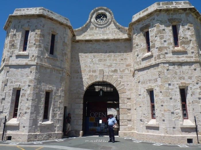 Front Entrance of Fremantle Prison