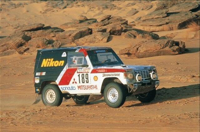 1985 Pajero Dakar