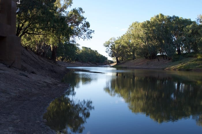 Darling River Louth NSW
