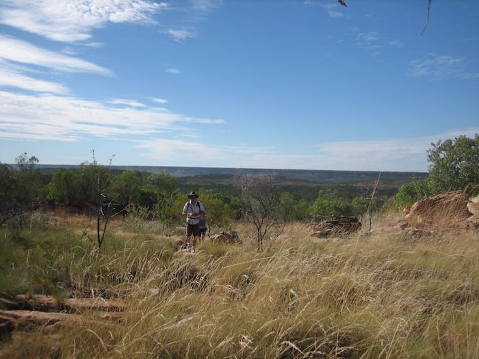 The walk from Mount Barnett Campground to Manning Gorge.