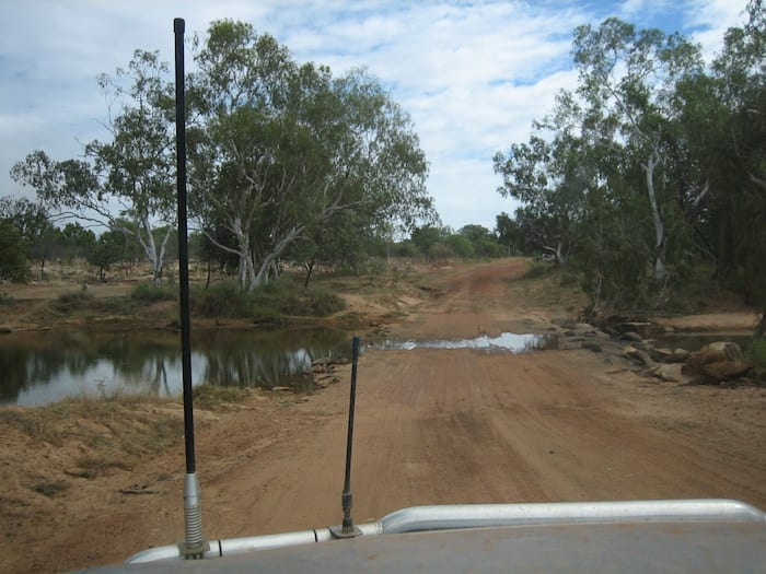 A creek crossing on the Gibb River Road.