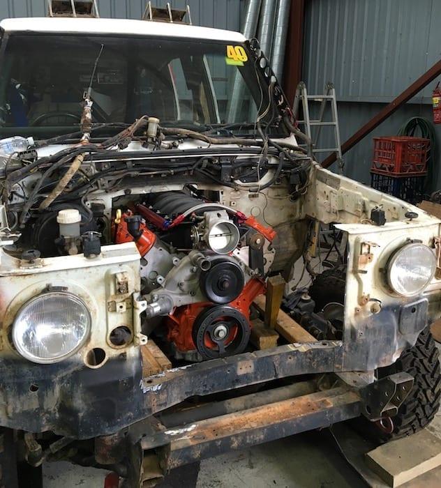 LS1 is a pretty tight fit. LS1 Engine Swap.