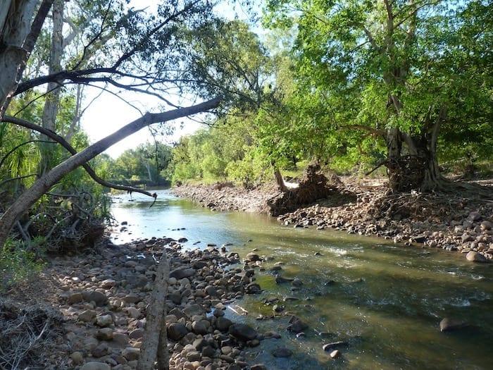 Pentecost River, El Questro Station Kimberleys.