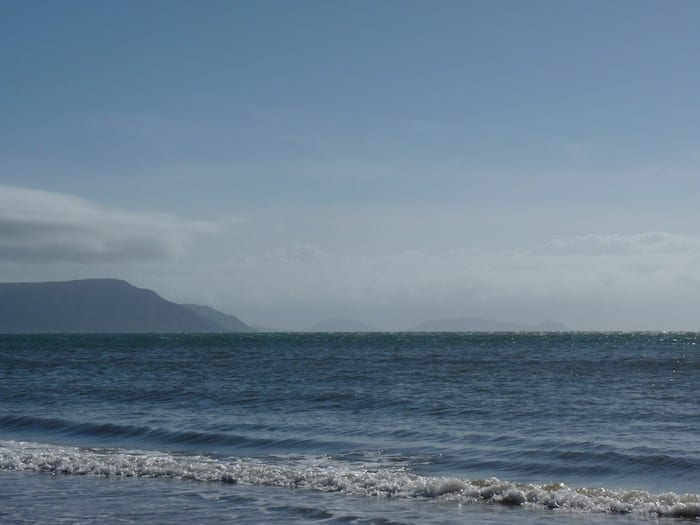 Somewhere out there, Cook ran aground on a reef. Cooktown.