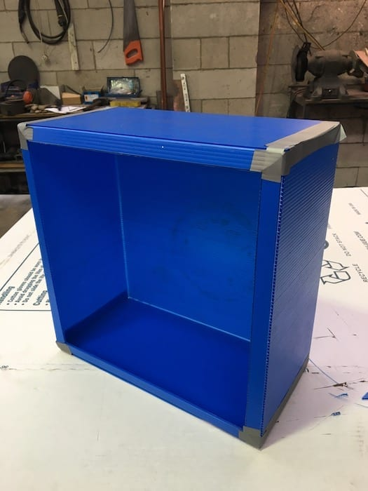 The basic outline of the Air Intake Box.