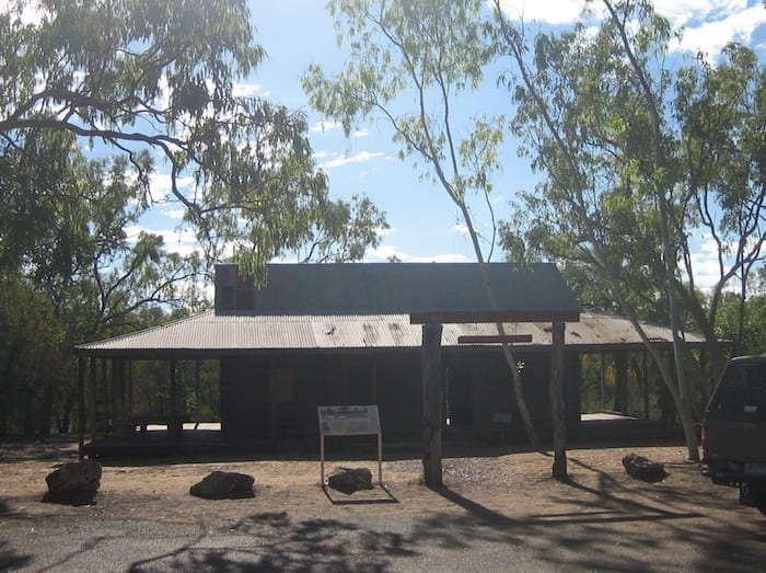 Replica of Old Elsey Homestead, near Mataranka Homestead.