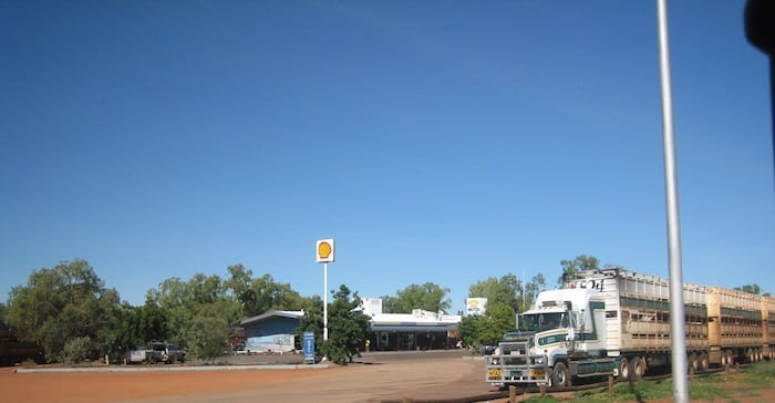 The Threeways Roadhouse, Northern Territory. Mataranka To Tennant Creek.