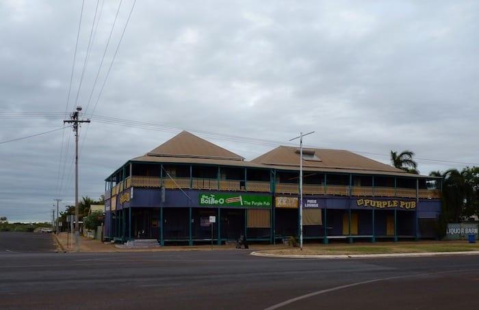 Purple Pub, Normanton.