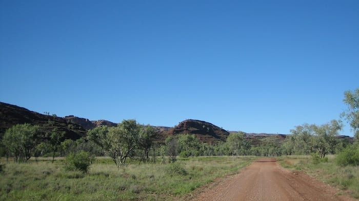 First sight of the Bungle Bungles, Purnululu National Park.
