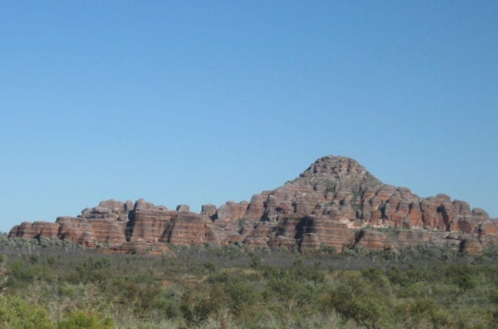 Distinctive bands of the Bungle Bungles, Purnululu National Park.