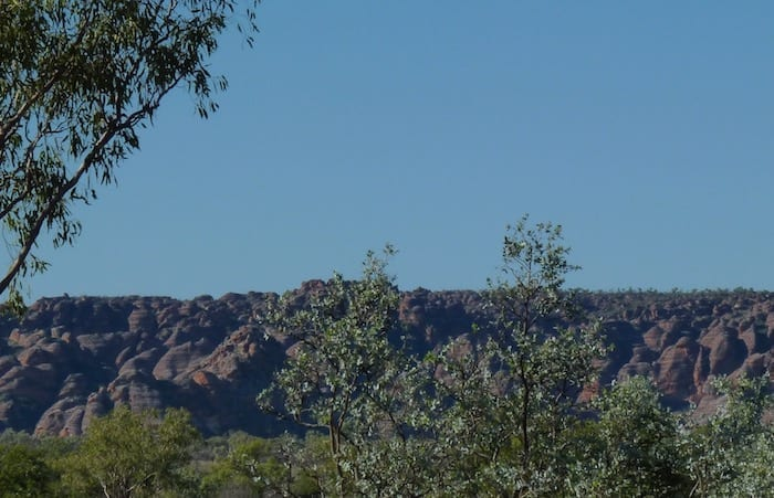The Bungle Bungles from our campground, Purnululu National Park.