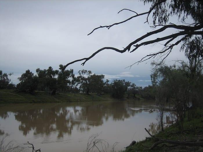 Darling River at Kidman's Camp, Bourke.
