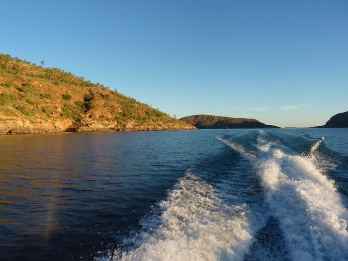 Such awesome scenery. Lake Argyle Cruises.