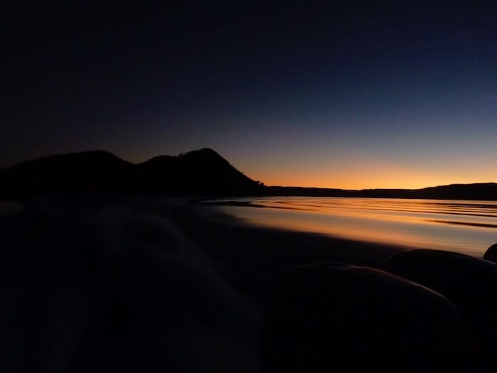 Sunset over Lake Argyle. Lake Argyle Images.