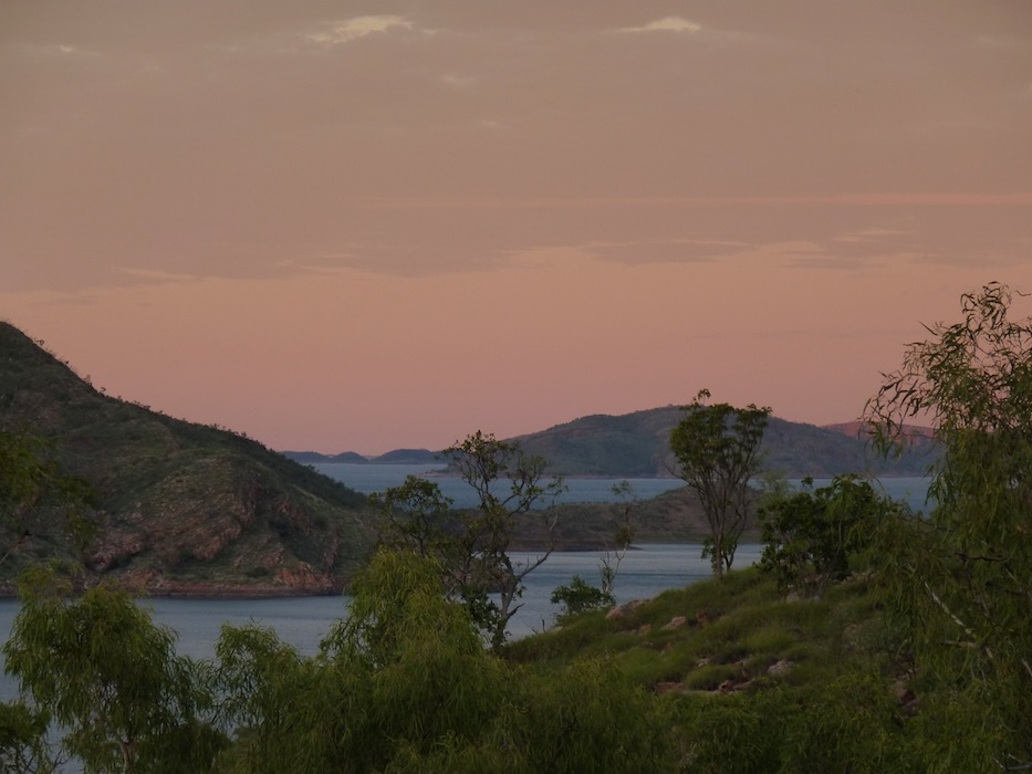 Sunrise, Lake Argyle.