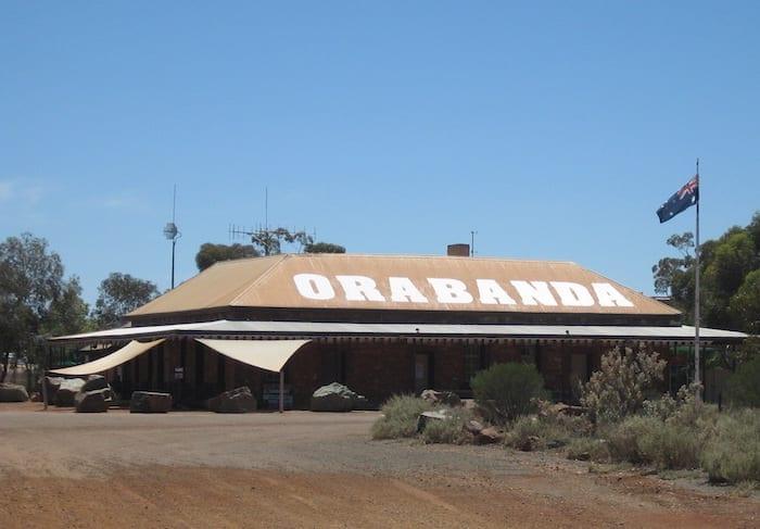 Ora Banda Historical Inn. Golden Quest Discovery Trail.