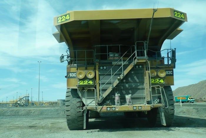 Dump truck. Kalgoorlie Super Pit.