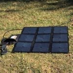 REDARC 115W SunPower Cell solar blanket.