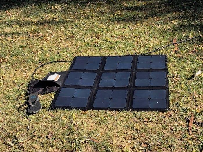 REDARC 115W SunPower Cell solar blanket.