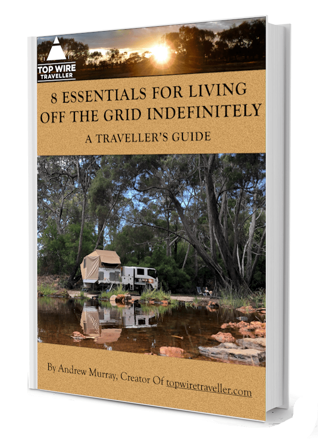 8 essentials for living off the grid indefinitely.