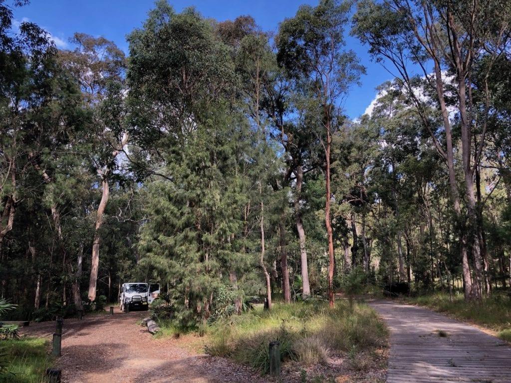 Munall campground at Blackdown Tableland National Park.