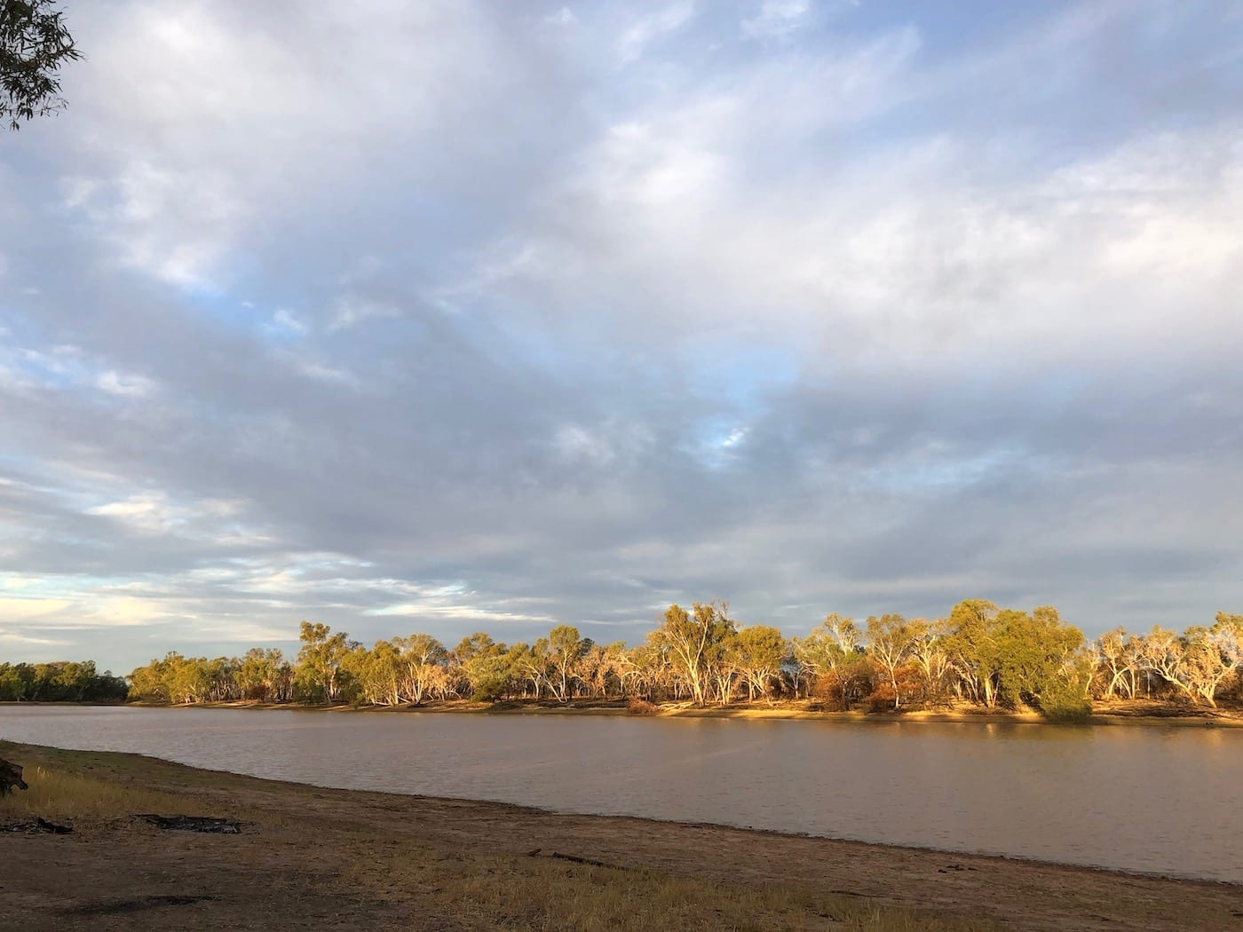 Late afternoon at Lake Stretch (Nyarna or Stretch Lagoon).