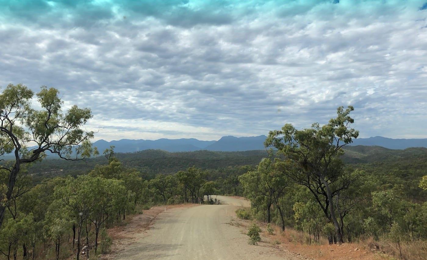 Wild roads around Palmer River Goldfields.