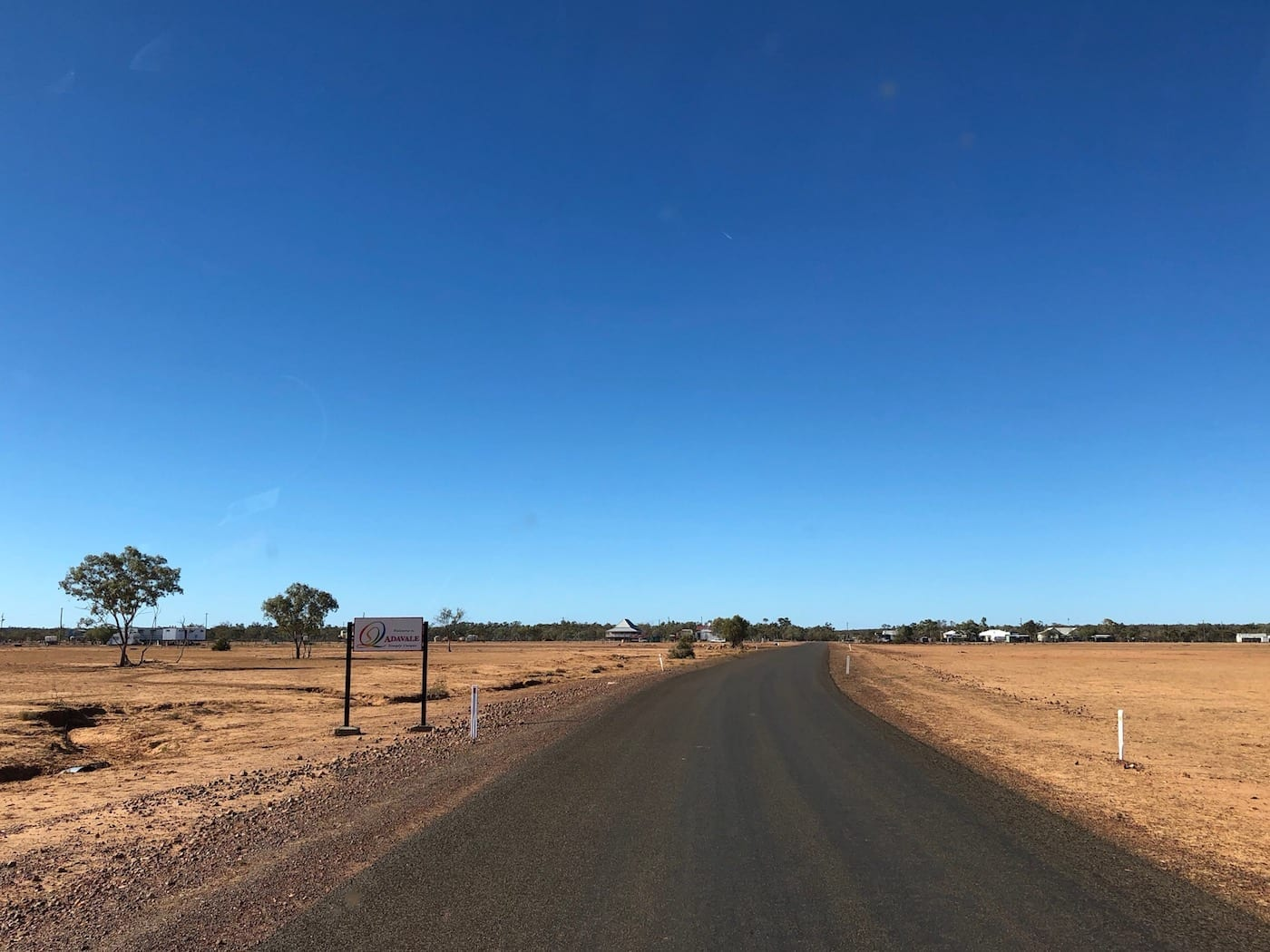 Approaching Adavale from Blackall.