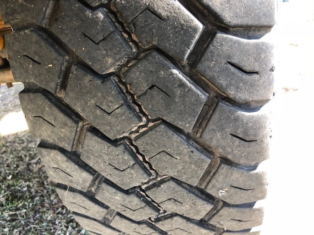 Left front tyre wear. Toyo Tyres Review.