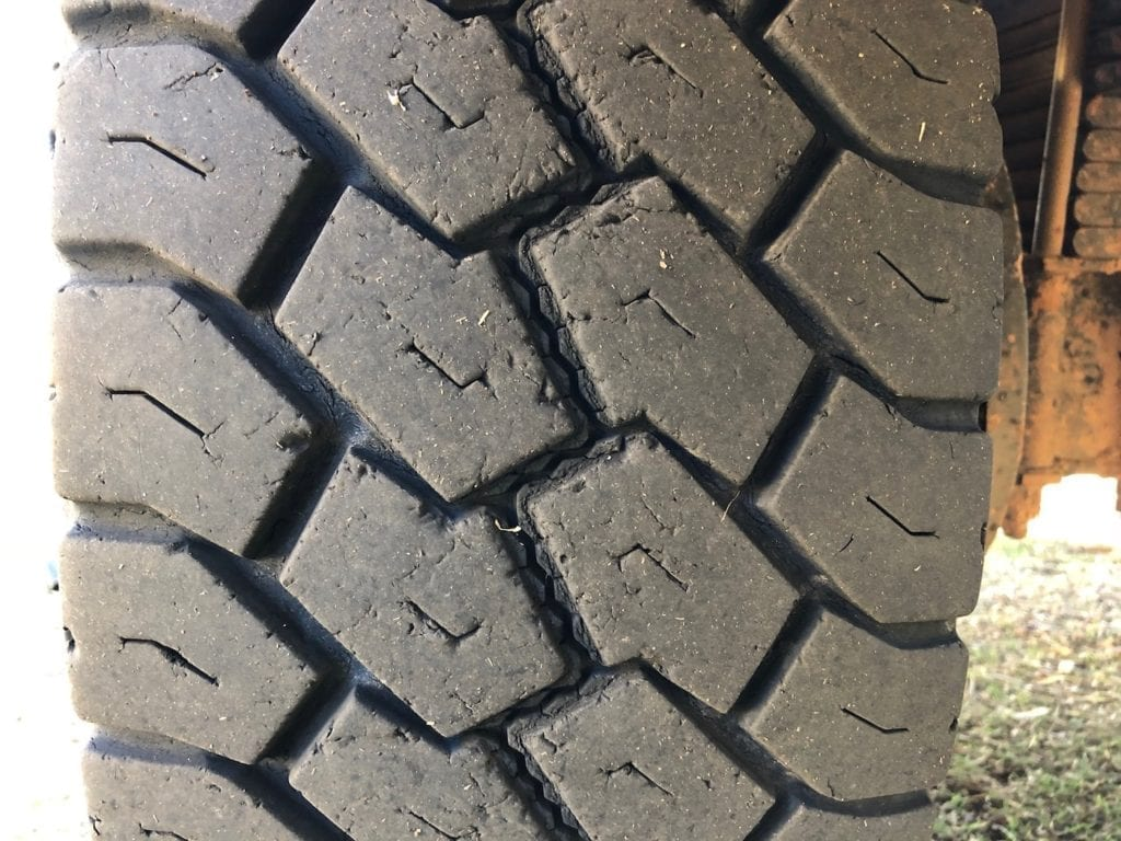 Right rear tyre wear. Toyo Tyres Review.