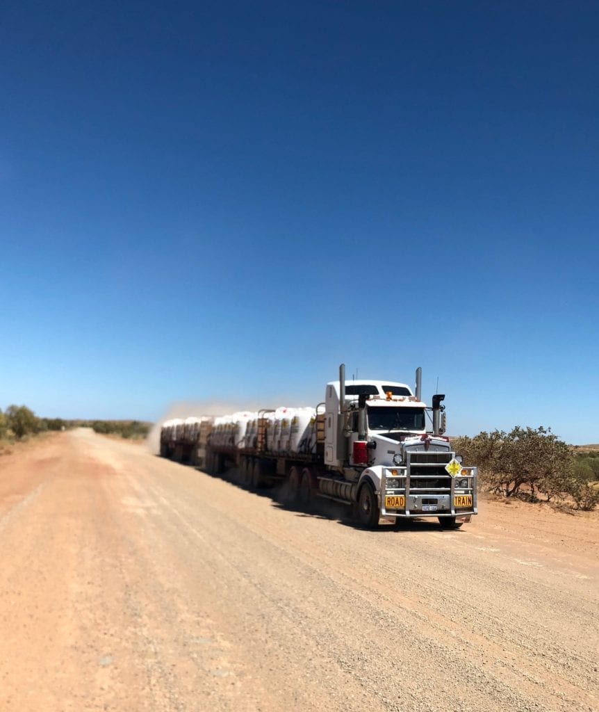 Moving off the road for road trains is basic road safety commonsense.