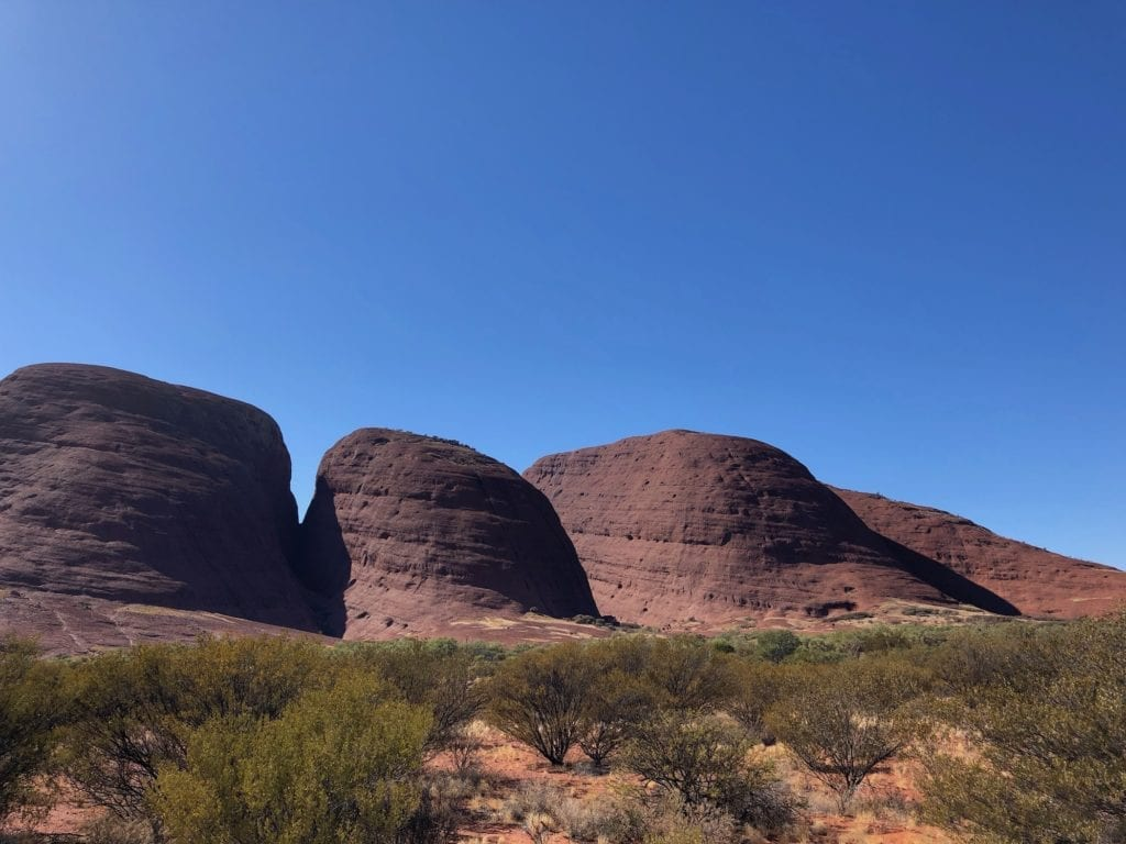 The domes of Kata Tjuta.