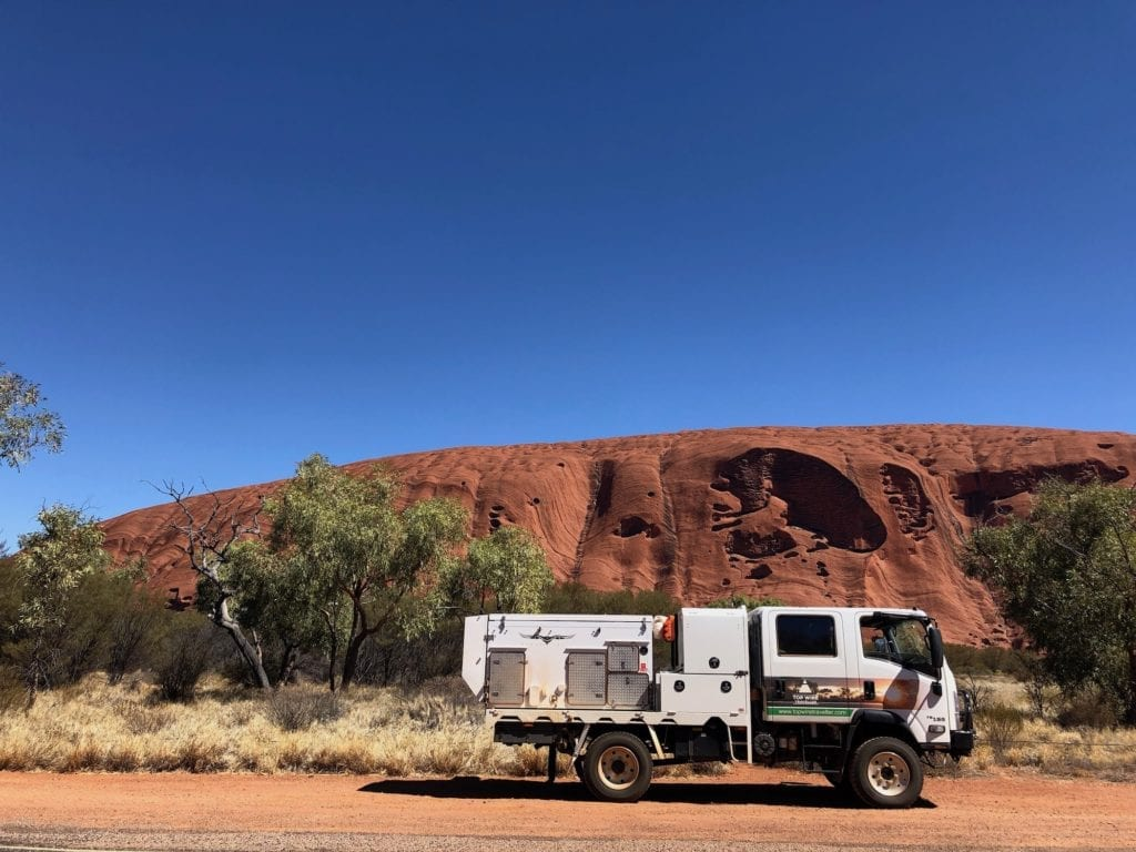 Having a lunch break at Uluru. What Is Uluru?