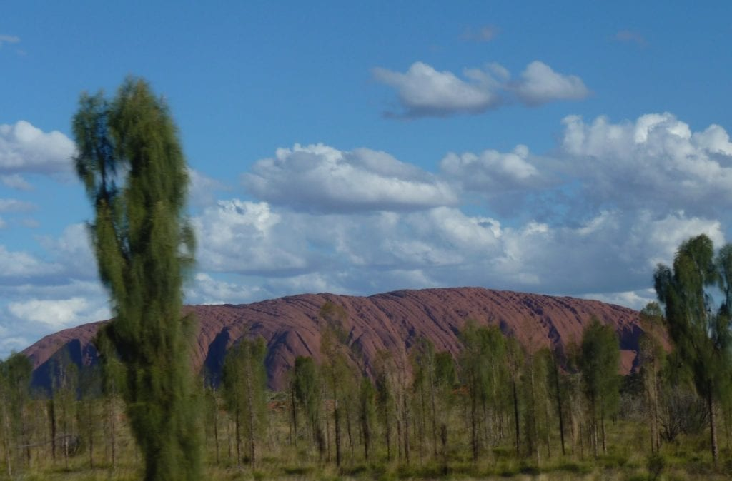 In this light, the bands of sediment can be clearly seen. What Is Uluru?